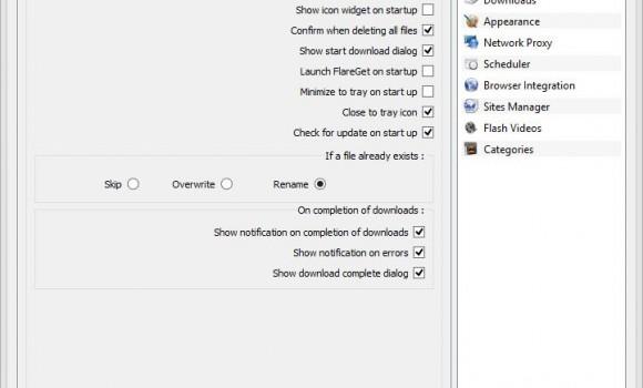 FlareGet Download Manager Ekran Görüntüleri - 2