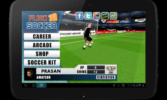 Flick Soccer 3D Ekran Görüntüleri - 8