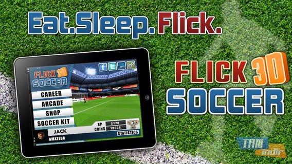 Flick Soccer 3D Ekran Görüntüleri - 5