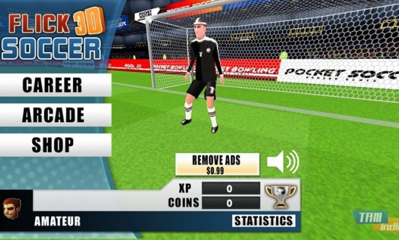 Flick Soccer 3D Ekran Görüntüleri - 3