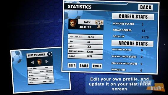 Flick Soccer 3D Ekran Görüntüleri - 2