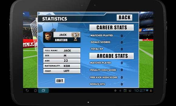 Flick Soccer 3D Ekran Görüntüleri - 1