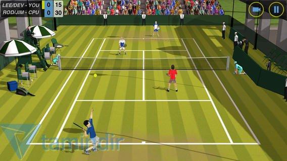 Flick Tennis Ekran Görüntüleri - 5