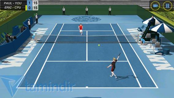 Flick Tennis Ekran Görüntüleri - 3