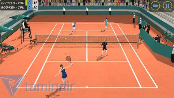 Flick Tennis Ekran Görüntüleri - 2