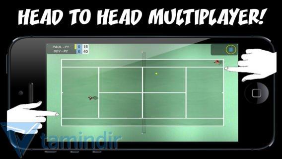 Flick Tennis Ekran Görüntüleri - 1