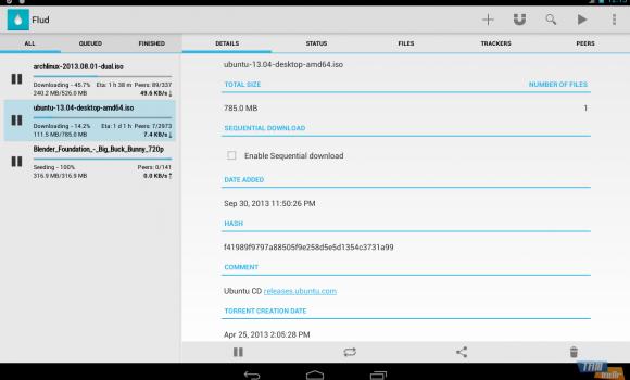 Flud - Torrent Downloader Ekran Görüntüleri - 8