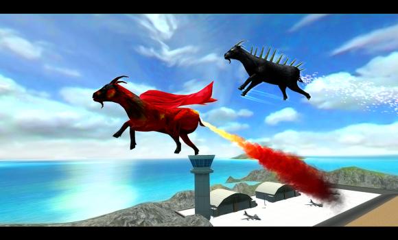 Flying goat rampage go Ekran Görüntüleri - 3