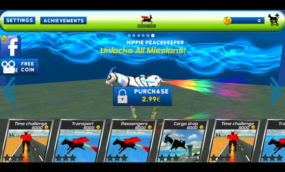 Flying goat rampage go Ekran Görüntüleri - 2
