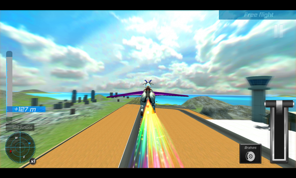 Flying goat rampage go Ekran Görüntüleri - 1