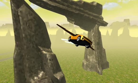 Flying Muscle Car Simulator 3D Ekran Görüntüleri - 5