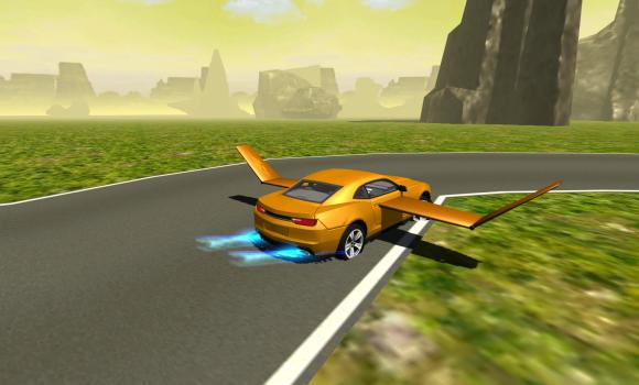 Flying Muscle Car Simulator 3D Ekran Görüntüleri - 3