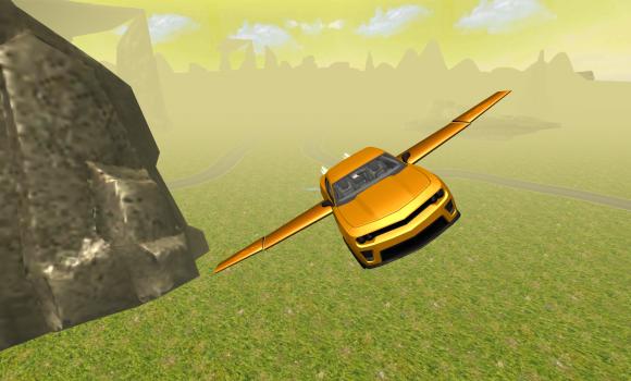 Flying Muscle Car Simulator 3D Ekran Görüntüleri - 1