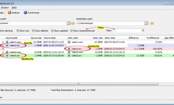 Folder Sync Ekran Görüntüleri - 1