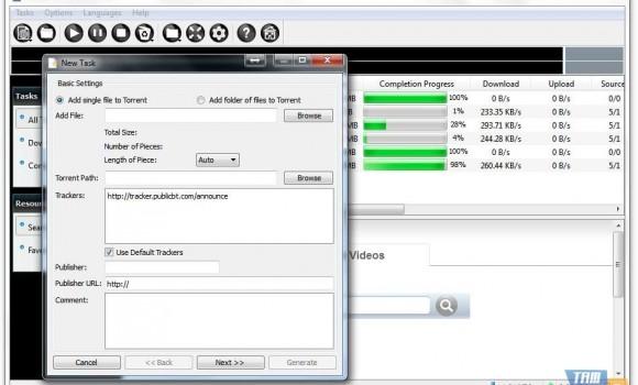 FooDownloader Ekran Görüntüleri - 1