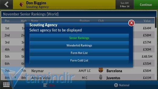 Football Manager Handheld 2015 Ekran Görüntüleri - 4