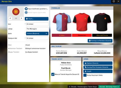 Football Manager Touch 2016 Ekran Görüntüleri - 4
