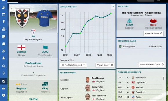 Football Manager Touch 2017 Ekran Görüntüleri - 6