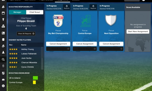 Football Manager Touch 2017 Ekran Görüntüleri - 5
