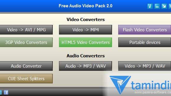 Free Audio Video Pack Ekran Görüntüleri - 4