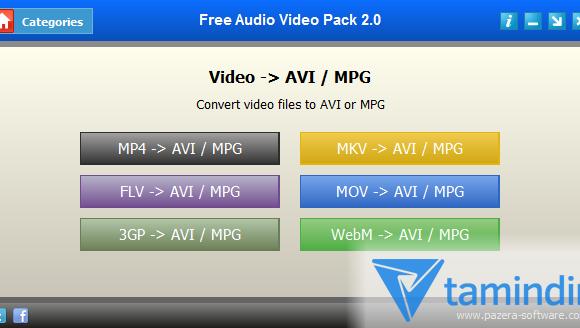 Free Audio Video Pack Ekran Görüntüleri - 3