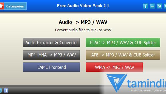 Free Audio Video Pack Ekran Görüntüleri - 2