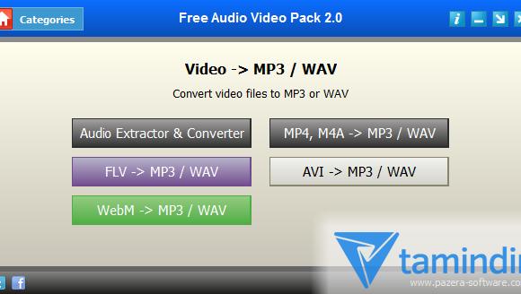 Free Audio Video Pack Ekran Görüntüleri - 1
