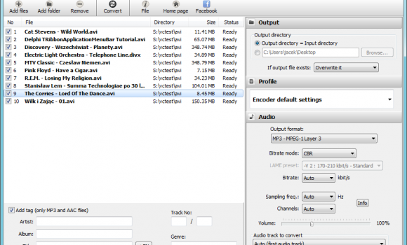 Free AVI to MP3 Ekran Görüntüleri - 4
