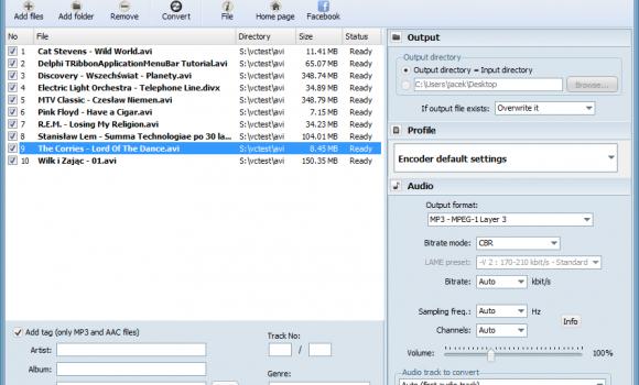 Free AVI to MP3 Ekran Görüntüleri - 3