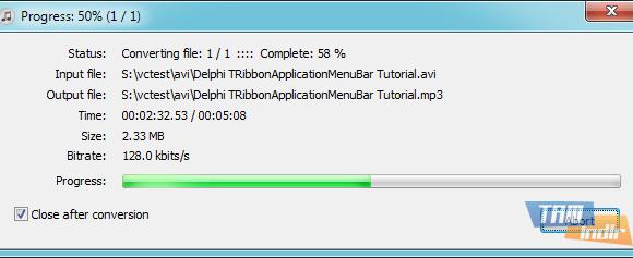 Free AVI to MP3 Ekran Görüntüleri - 2