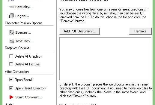 Free PDF to Word Converter Ekran Görüntüleri - 3