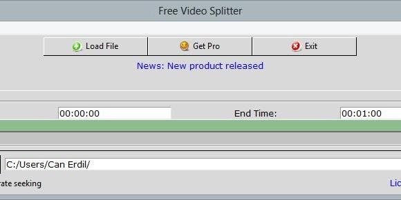 Free Video Splitter Ekran Görüntüleri - 3
