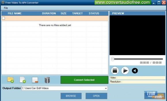 Free Video To MP4 Converter Ekran Görüntüleri - 1