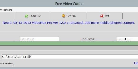 FreeStar Free Video Cutter Ekran Görüntüleri - 2