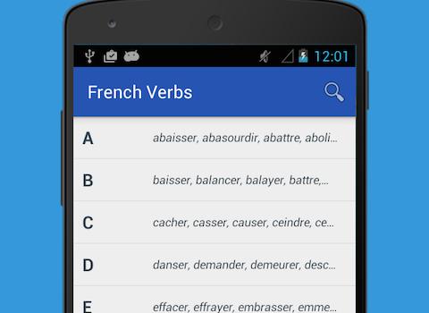 French Verb Conjugator Ekran Görüntüleri - 4