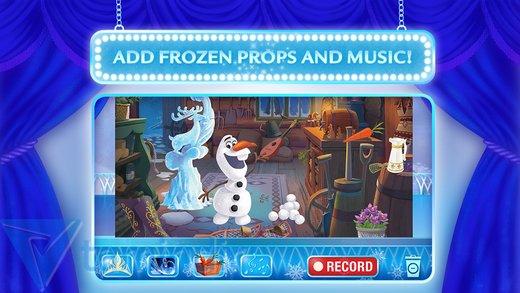 Frozen: Story Theater Ekran Görüntüleri - 3