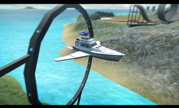 Game of Flying: Cruise Ship 3D Ekran Görüntüleri - 1