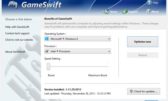 GameSwift Ekran Görüntüleri - 1
