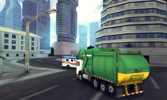 Garbage Truck Simulator 2016 Ekran Görüntüleri - 3
