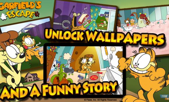 Garfield's Escape Ekran Görüntüleri - 1
