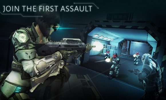 Ghost in the Shell: Stand Alone Complex - First Assault Online Ekran Görüntüleri - 2