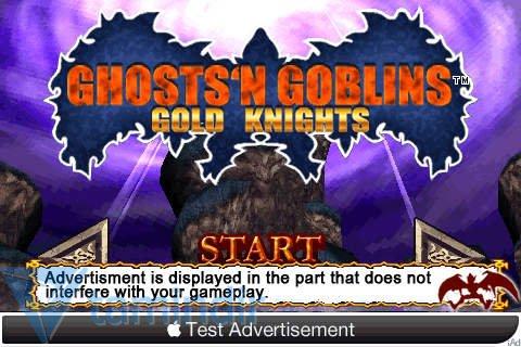 Ghosts'N Goblins Gold Knights Free Ekran Görüntüleri - 5