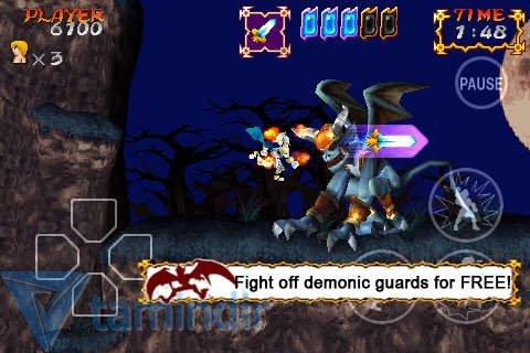 Ghosts'N Goblins Gold Knights Free Ekran Görüntüleri - 3