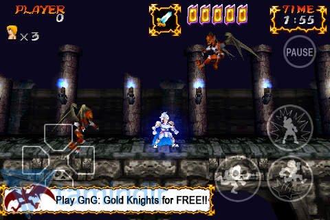 Ghosts'N Goblins Gold Knights Free Ekran Görüntüleri - 2