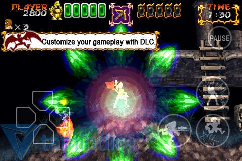 Ghosts'N Goblins Gold Knights Free Ekran Görüntüleri - 1