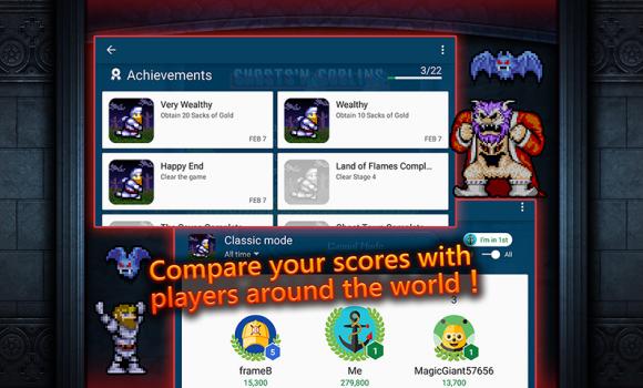 Ghosts'n Goblins MOBILE Ekran Görüntüleri - 1