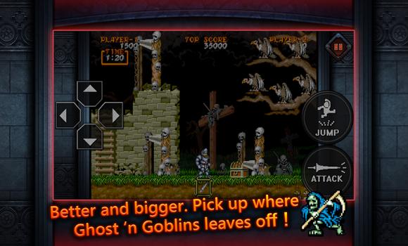 Ghouls'n Ghosts MOBILE Ekran Görüntüleri - 2