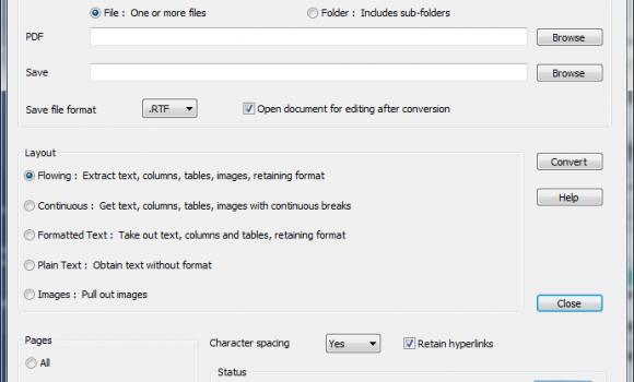 GIRDAC PDF to Word Converter Ekran Görüntüleri - 1