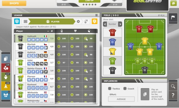 goalunited PRO – football manager for experts Ekran Görüntüleri - 3