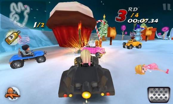 GoKart Yarışı 3D Ekran Görüntüleri - 3